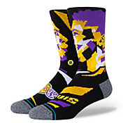 Stance Los Angeles Lakers Anthony Davis Profile Crew Socks
