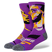 Stance Los Angeles Lakers LeBron James Profile Crew Socks