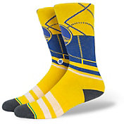Stance Men's Golden State Warriors Cross Court Socks