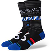 Stance 2020-21 City Edition Philadelphia 76ers Crew Socks
