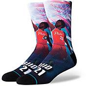 Stance Philadelphia 76ers Joel Embiid Jersey Crew Socks