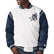 Starter Men's Dallas Cowboys Varsity White Jacket