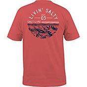Salt Life Men's Fish Tropics Circle T-Shirt