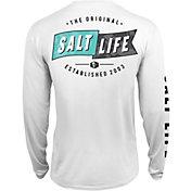 Salt Life Men's Salute Long Sleeve Fishing Shirt