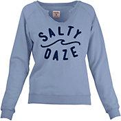 Salt Life Women's Salty Daze Crewneck Sweatshirt