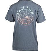 Salt Life Women's Summer Stroke Fade Pocket T-Shirt