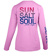 Salt Life Women's Sun Salt Soul Long Sleeve Shirt