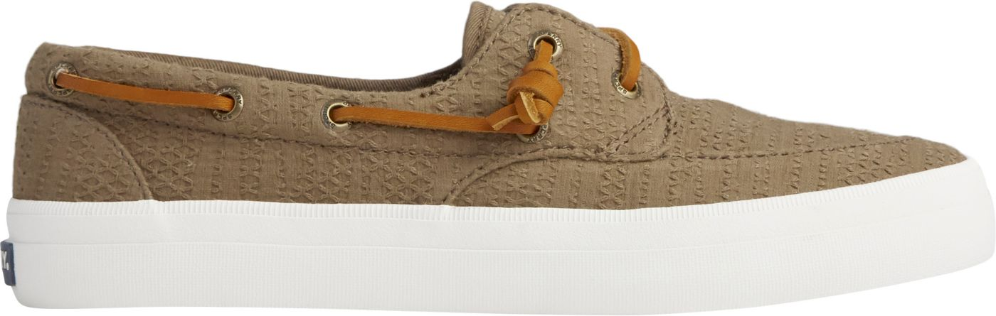 Sperry Women's Crest Boat Smocked Hemp Casual Shoes