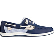 Sperry Women's Songfish Mini Check Boat Shoes