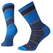 Smartwool Adult Hike Medium Striped Crew Socks