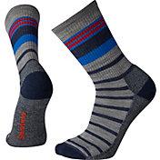Smartwool Men's Hike Light Striped Crew Socks