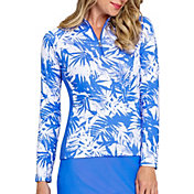 Tail Women's UV Quarter Zip Long Sleeve Golf Top (Regular and Plus)