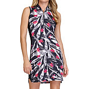 Tail Women's Bomber Collar Sleeveless Golf Dress