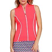 Tail Women's Full Zip Sleeveless Golf Top (Regular and Plus)