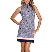 Tail Women's Printed ¼ Zip Sleeveless Golf Dress