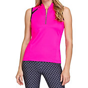 Tail Women's Raglan Sleeveless Golf Polo