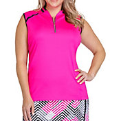 Tail Women's Raglan Sleeveless Golf Polo - Plus Size