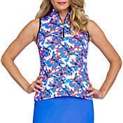Tail Women's Racerback Sleeveless Golf Polo (Regular and Plus)