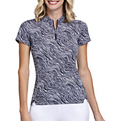 Tail Women's Mini-Mock Short Sleeve Golf Polo