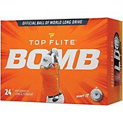 Top Flite 2020 BOMB Personalized Golf Balls – 24 Pack
