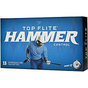 Top Flite 2020 Hammer Control Golf Balls – 15 Pack