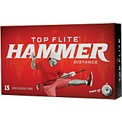 Top Flite 2020 Hammer Distance Personalized Golf Balls – 15 Pack