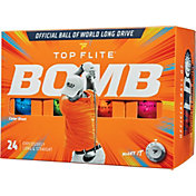 Top Flite 2020 BOMB Color Blast Golf Balls – 24 Pack