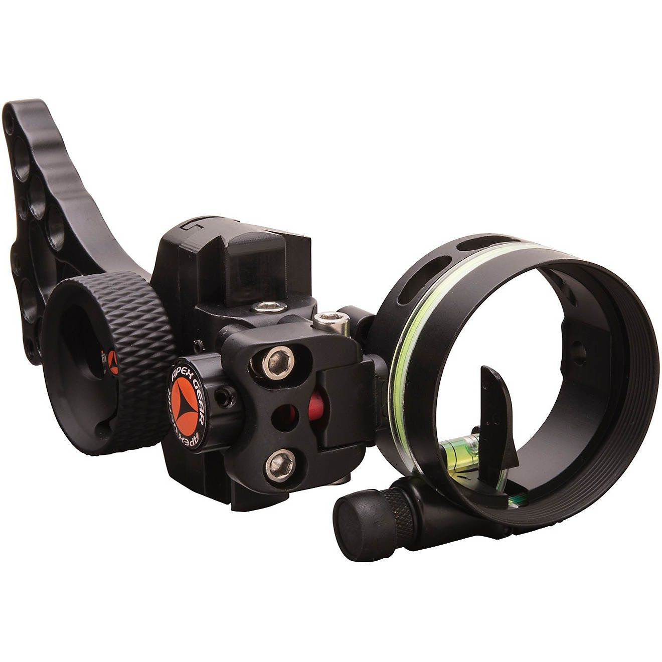 Truglo Apex Gear Covert 1 Single-Pin Archery Sight, Ambidextrous, green