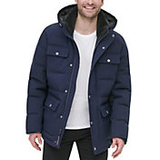 Tommy Hilfiger Men's Quilted 4 Pocket Hooded Puffer Jacket