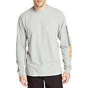 Timberland Men's Pro Logo Sleeve Base Plate Wicking T-Shirt