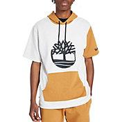 Timberland Men's Color Block Short Sleeve Hoodie
