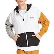 Timberland Men's Full-Zip Logo Hoodie