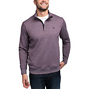 TravisMathew Men's Hideaway ¼ Zip Golf Pullover