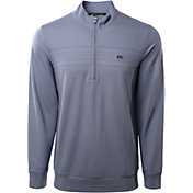 TravisMathew Men's Palm Reader 1/4 Zip Golf Pulllover