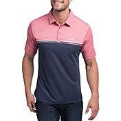 TravisMathew Men's Red Head Short Sleeve Golf Polo