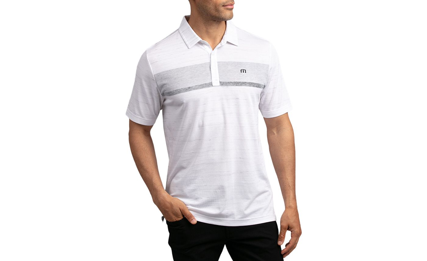 TravisMathew Men's There Are Rules Golf Polo