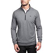 TravisMathew Men's Zachary ¼ Zip Golf Pullover