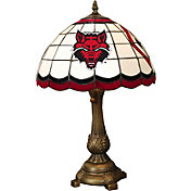 Memory Company Arkansas State Red Wolves Tiffany Table Lamp