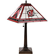 Memory Company New Jersey Devils Mission Tiffany Table Lamp