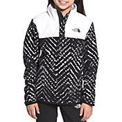 The North Face Girls' Glacier 1/4 Snap Pullover