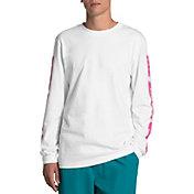 The North Face Men's Logo Haze Graphic Long Sleeve Shirt