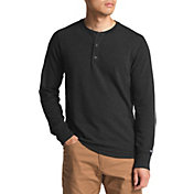 The North Face Men's TNF Terry Long Sleeve Henley Shirt