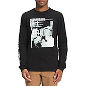 The North Face Men's Warped Type Graphic Long Sleeve T-Shirt