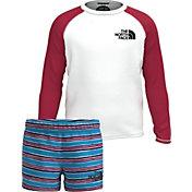 The North Face Toddler Boys' Sun Long Sleeve Shirt and Shorts 2-Piece Set