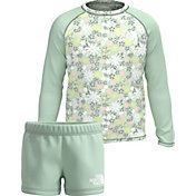 The North Face Toddler Girls' Sun Long Sleeve Shirt and Shorts 2-Piece Set
