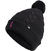 The North Face Women's Pink Ribbon Cable Minna Beanie