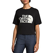 The North Face Women's Half Dome Cropped Short Sleeve T-Shirt