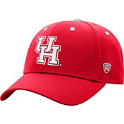 Top of the World Men's Houston Cougars Red Triple Threat Adjustable Hat
