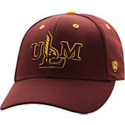 Top of the World Men's Louisiana-Monroe Warhawks Maroon Triple Threat Adjustable Hat