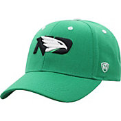 Top of the World Men's North Dakota Fighting Hawks Green Triple Threat Adjustable Hat